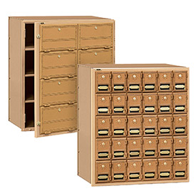 Salsbury Commercial Brass Mailboxes