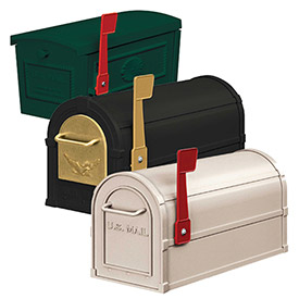 Salsbury Front Opening Rural & Townhouse Mailboxes