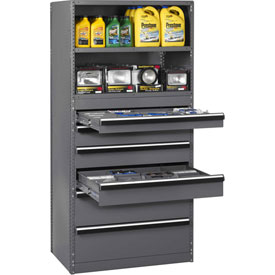 Industrial Shelving Drawer Cabinets