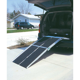 PVI Foldable Ramps