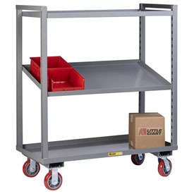 Little Giant® Adjustable Height Multi-Shelf Trucks