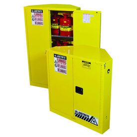 Corner Flammable Safety Cabinets