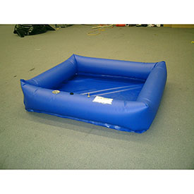 Husky PVC Air Wall Decontamination Pools