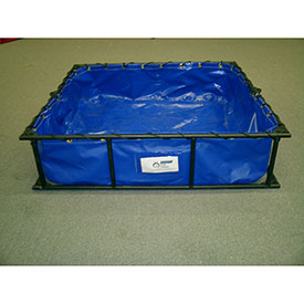 Husky Steel or Aluminum Frame HAZ/MAT Decontamination Pools