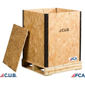 FCA Collapsible Wooden Crates
