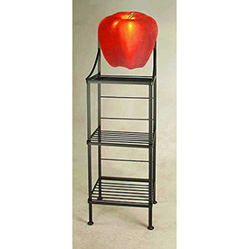 Art Silhouette Bakers Racks-Fruit & Vegetable Theme