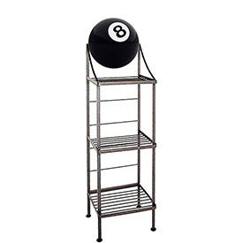 Art Silhouette Bakers Racks-Sports Theme