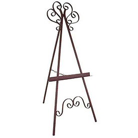 Easels - Wrought Iron, Designer Type