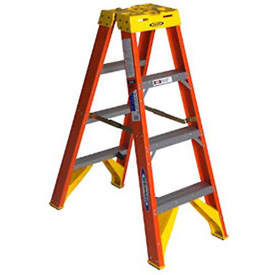 Werner Fiberglass Twin Stepladders - CSA Approved