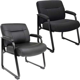 Interion® - Big & Tall Guest Chairs
