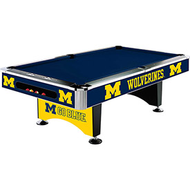 Pool Tables & Accessories - NCAA Logo Series