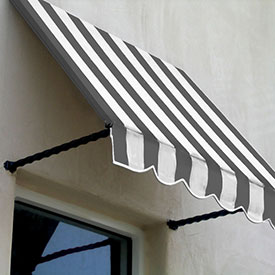 Awntech 3-3/8'W Twisted Rope Awnings