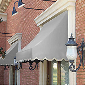 Awntech 4-3/8'W Crescent Shaped Awnings
