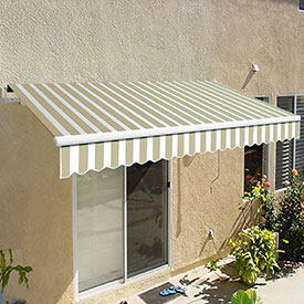 Awntech 8'W Medium-Duty Manual Retractable Awnings