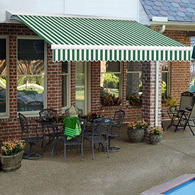 Awntech 20'W Heavy-Duty Manual Retractable Awnings