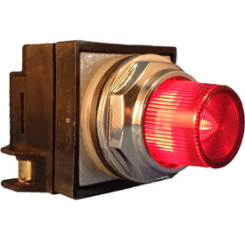 Springer Controls 30mm Illuminated Push Buttons, Extended