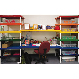 PVI - Colored Aluminum Shelves