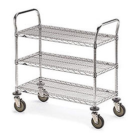 Metro® Wire Shelf Trucks & Utility Carts