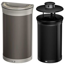 Rubbermaid Enhance™ Decorative Ash & Trash Containers