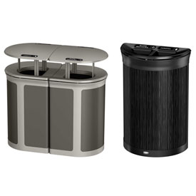 Rubbermaid Enhance™ Decorative Recycling Containers