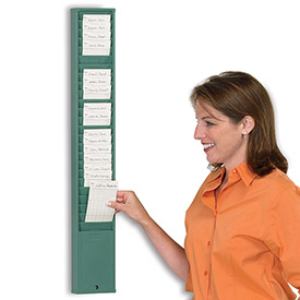 Timecard Racks and Payroll Clocks