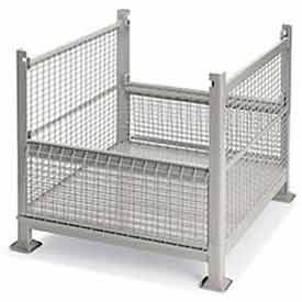 Stackable Wire Containers