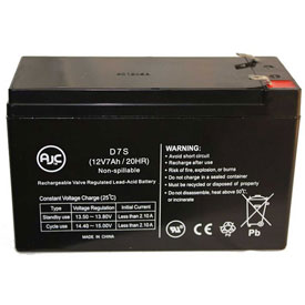 AJC® Brand Replacement Lead Acid Batteries For Plectron