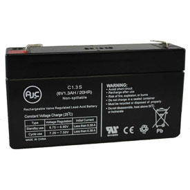 AJC® Brand Replacement Lead Acid Batteries For Sec Microlyte