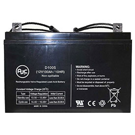 AJC® Brand Replacement Scooter Batteries 12V 100 Amps