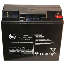 AJC® Brand Replacement Home Alarm Batteries 12V 18 Amps