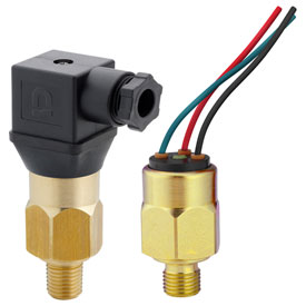 PVS Sensors, Vacuum Switches, Brass Housing