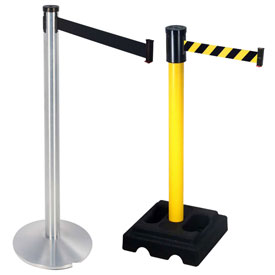 Visiontron Retractable Belt Stanchions