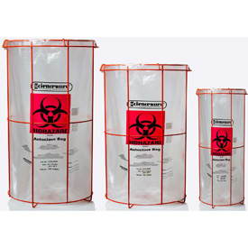 Biohazard Waste Bag Holders