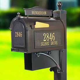 Whitehall Residential Post Mounted Mailboxes