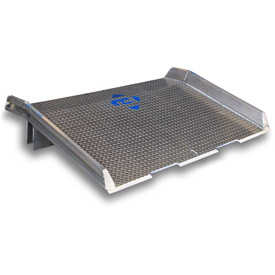 Bluff® Speedy Board® Aluminum Dock Boards with Welded Aluminum Curbs & Forklift Tine Notches