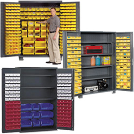 All-Welded 14 Gauge Bin Cabinets