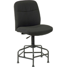Interion® Big & Tall Stool With Glides
