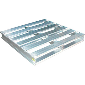 Aluminum Pallets Static Capacity 6000 Lbs.