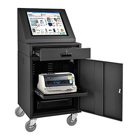 LCD Console Computer Cabinet