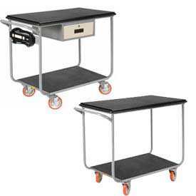 Steel Instrument Carts & Workcenters