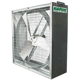 J&D Whirlwind Galvanized Box Fans