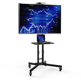Video Conferencing & Telepresence A/V LCD Monitor Stands and Carts