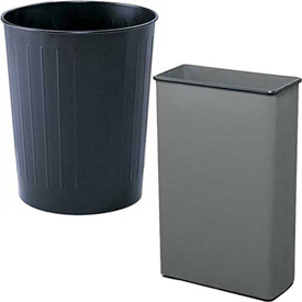 Metal Open Top Wastebaskets