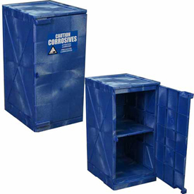 Eagle Modular Quik-Assembly Acid Corrosive Poly Cabinets