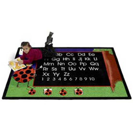 Animal & Insect Educational Rugs