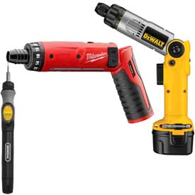 Cordless Power Screwdrivers