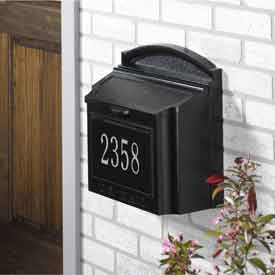 Security Wall Mount MailBoxes - U.S. Postmaster Approved