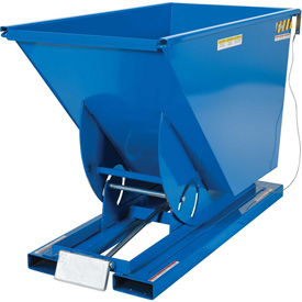 Vestil Self-Dumping Steel Forklift Hoppers with Bumper Release