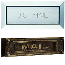 Door Letter Drop Mail Slots