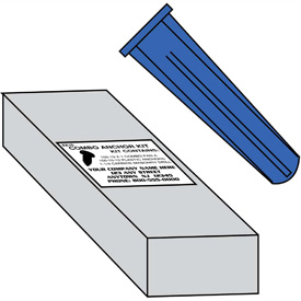 Conical Plastic Anchors
